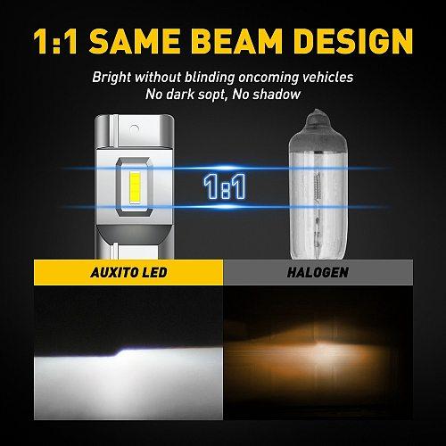 2pcs H8 H9 H11 LED Fog Lights H16JP H10 9045 9145 For VW Golf 4 5 7 6 Passat B5 B6 B7 Touareg Led Car Lights 12v