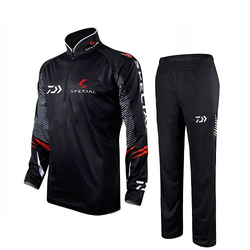 2020 New Brand Fishing Clothing Sets Men Breathable Upf 50+ Uv Protection Outdoor Sportswear Suit Summer Fishing Shirt Pants