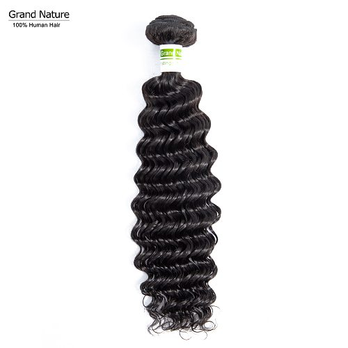 Brazilian virgin hair bundle with deep wave human hair extensions ocean Wave human hair weaves one donor can buy 3 ot 4pcs