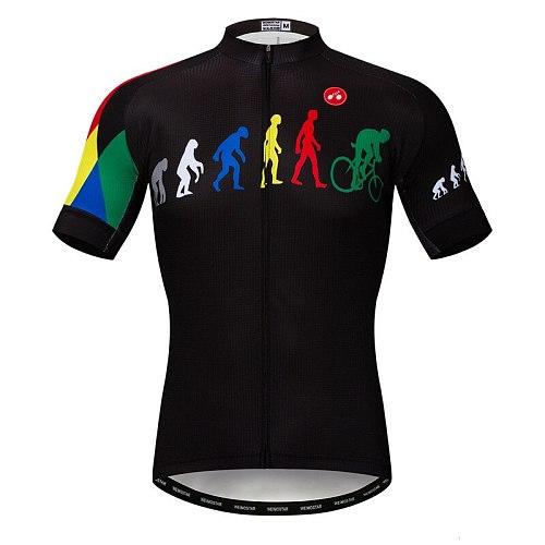 2021 Men Summer short sleeve Bicycle Jersey Pro Team Cycling Racing Sport shirt MTB Bike Jersey Breathable Cycling Shirt Maillot