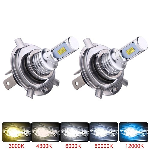 2Pcs H7 LED Bulb Super Bright CSP Car Fog Lights Headlight 12V 24V 8000K 6000K White Driving Day Running Lamp Auto Led H7 Bulb