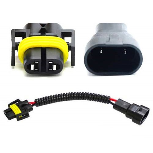 1pc 9006 To H11 H8 Headlight Fog Light Conversion Connector Wiring Harness Plug Cable Socket Connector Repair Kit
