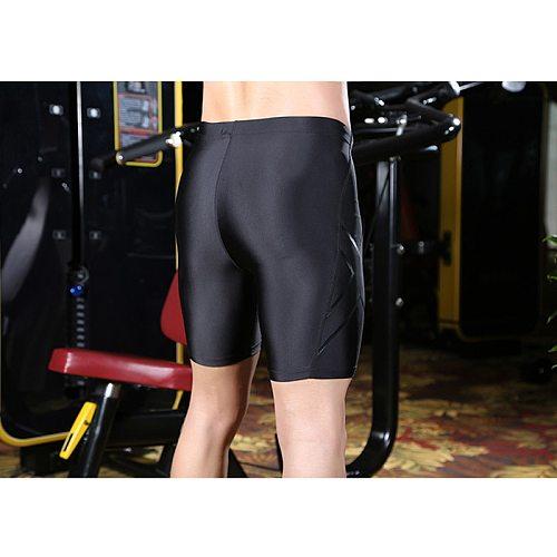 Men Compression Shorts Tight Running Cycling Sweat Pants Short Fitness Pants Casual Soft Black Men Shorts Clothes Fitness шорты