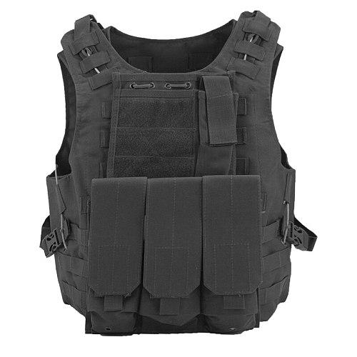 Amphibious Tactical Combat Vest Military Hunting CS Combat Shooting Outdoor Men's Combat Vest Plate Carriers  Tactical Gear