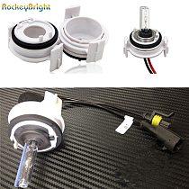 Rockeybright 2pcs H7 Xenon For HID Bulbs Adapters Holders For BMW E46 3Series 325ci 325i 330ci 330i M3 328Ci 323i HID H7 Adapter