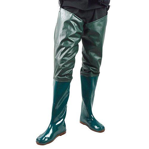 Waterproof Fishing Waders PVC Boot Coarse Rain Hunting Hip Wader Water Pants