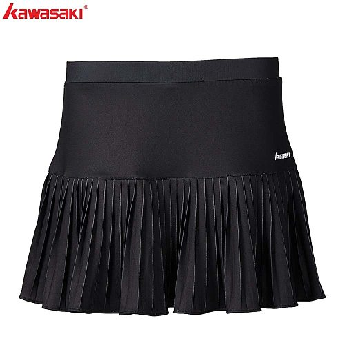 Kawasaki   Table Tennis Skorts  Ladies Sports Skirt Polyester Breathable Badminton Black Running Shorts Skirt Women SK-S2752