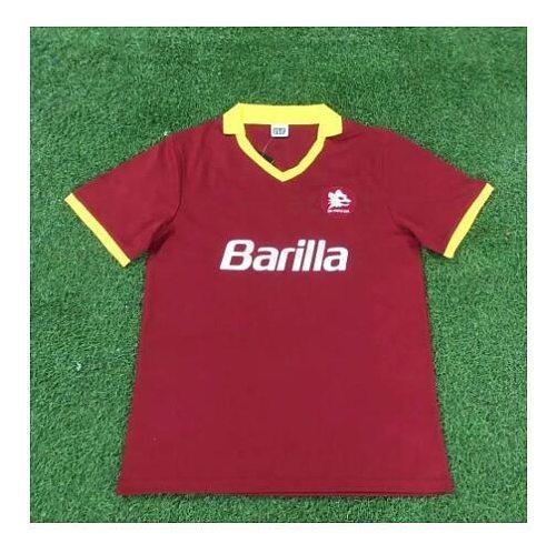 Camisetas vintage retro de TOTTI GIANNINI, colección de conmemoración clásica de Roma, Maglia da calcio, 89, 90, 90, 91,92,94