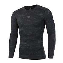 Dry Fit Compression Shirt Men Rashgard Fitness Long Sleeves Running Shirt Men Gym T Shirt Football Jersey Sportswear Sport Tight