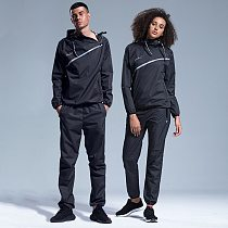 Sauna Suit Slimming Men Gym Clothing Set Women Hoodies Pullover Sportswear Running Fitness Weight Loss Sweating Couple Tracksuit