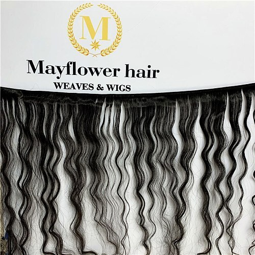 Mayflower 1/2/3/4 bundles 100% Unprocessed Malaysian Raw virgin hair Water wave natural color from 12-24  Free shipping