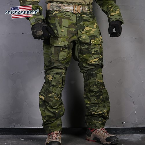 Emersongear Blue Label G3 Tactical Pants Camo Pants Militar Army Hunting High Quality Genuine Multicam Mens Duty Cargo Trousers