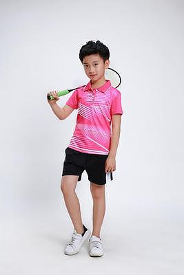 Children's badminton T-shirts,short sleeved men/women suits,table tennis jerseys, ping pong shirt  students,youth sport jersey