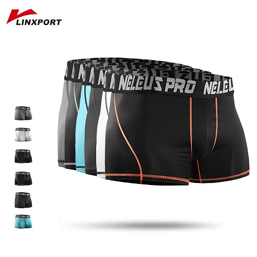 Men's Shorts Running Athletic Tights Compression Underwear Bodybuilding Sweatpants Fitness Leggings Male Trunks Boxing Underpant