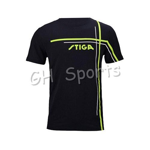 New arrival original Stiga Table tennis clothes sportswear quick dry short sleeved men ping pong Shirt Badminton Sport Jerseys