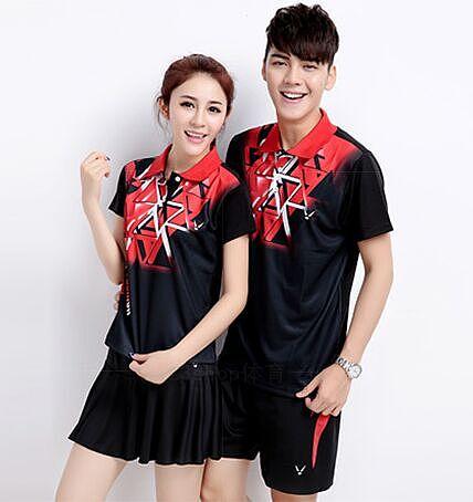 Free shipping Men/Women Badminton sets,Badminton clothes,men tennis sport jerseys,women Badminton/table tennis  shirt+shorts
