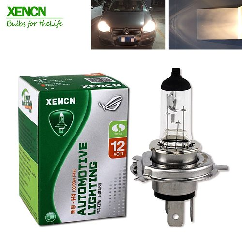 XENCN H4 P43t 12V 130/100W 3200K Clear Series Offroad Standard Car Head Light Halogen Bulb Auto Lamps Free Shipping 2PCS
