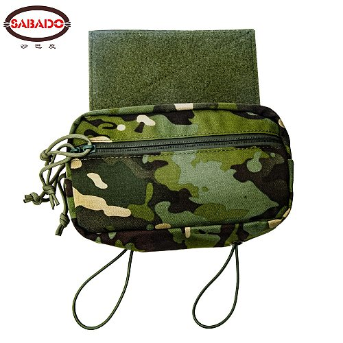 Tactical Sack Pouch Sub Abdominal Drop Down Belly Utility Bag For D3 Chest Rig MK3 Vest Hunting Accessories
