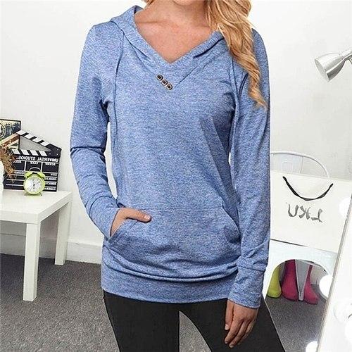 Sportswear Fitness Workout Sweater Gym Fitness Women Running Sweatshirt Pocket Hooded Hoodies