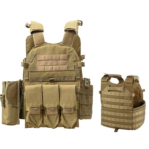 Outdoor Airsoft Paintball 6094 Tactical Vest Hunting CS Protection Body Armor Military Amry Combat Training Vest