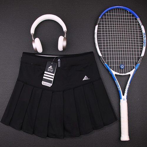 New Girls Tennis Skirts with Safety Shorts , Quick Dry Women Badminton Skirt , Female Tennis Skorts , Girl Sport Running Shorts