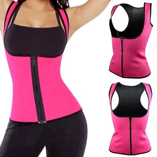 Yoga/Running Vest New  Women Neoprene Body Shaper Slimming Waist Slim Belt Underbust Plus Size XXXL Black