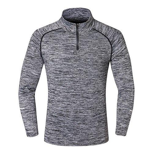 NEW Sport Men Quick Dry T-shirt Long Sleeve Sport Top Sportswear Men Fitness Outdoor Running Mountaineer Clothing Training Shirt