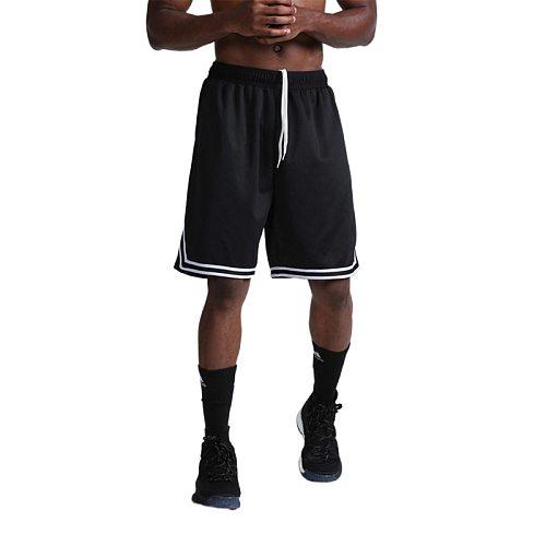 Fitness Bodybuilding Short Pants Summer Thin Male Basketball Stripe Training Casual Shorts Running Sport Shorts Men Gym