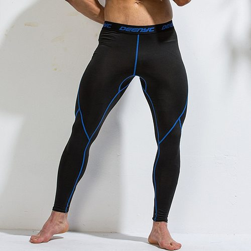 PRO Fitness Running Tights Leggings Men Compression Pants Gym Man Sportswear Yoga Workout Legging Basketball Tights Tracksuit XU