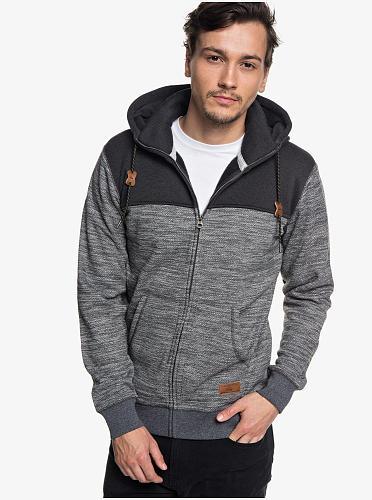 QS Keller Zip-Up Polar Fleece Hoodie