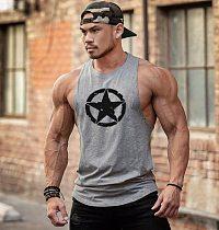 Muscle Cotton Gym Tank Tops Men Sleeveless Tanktops For Boys Bodybuilding Clothing Undershirt Fitness Stringer workout Vest