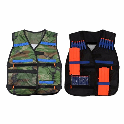 54*47cm New colete tatico Outdoor Tactical Adjustable Vest Kit For Nerf  Elite Games Hunting vest Top Quality