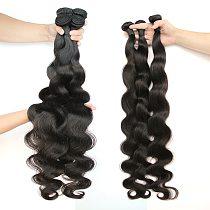 30 32 34 36 38 40 Inch Body Wave Bundles Brazilian Hair Weave Bundles 1/3/4PCS hoho 100% Human Hair Bundles Remy Hair Extensions