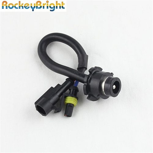 D2S AMP Adapters To D2S D2R D2C Converters For Aftermarket HID Kit Ballast socket d2s to amp wire connector plug cable