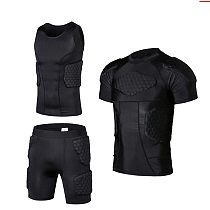 Men's Sports Honeycomb Anti-Collision Pad Compression Anti-Collision Suit Basketball Football Football Safety Protection Suit