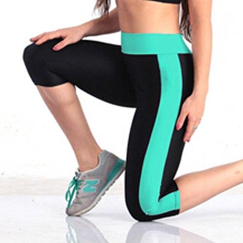 Quick Dry Women Sport Leggings Elastic Compression Sport Leggings Push Up High Waist Running Tights Women Running Pants Fitness