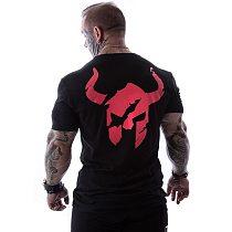 Men Run Sports Cotton T-shirt Gym Fitness Bodybuilding Short sleeve Slim t shirt Male Jogging Workout Training Tee Tops Clothing