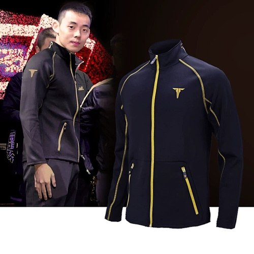 TIBHAR Table Tennis Sportswear new Jacket training Suit with Trousers Jerseys ping pong cloth sweater