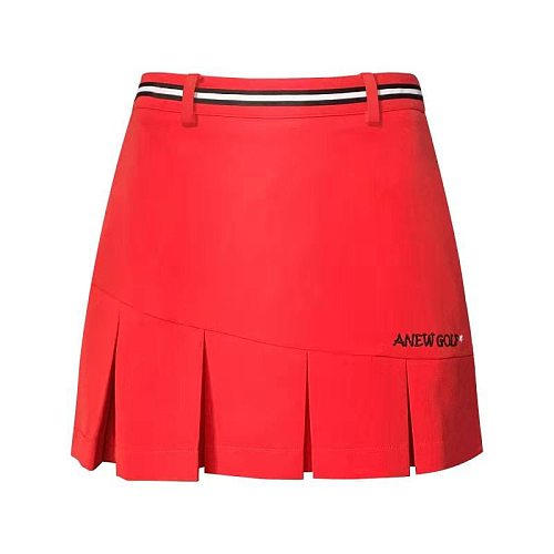 Golf apparel ANEW spring and summer new golf skirt tennis skirt comfortable sports casual fashion skirt free shipping