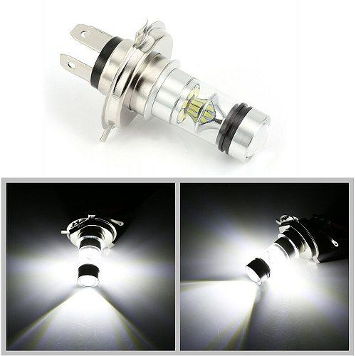 12V Auto Car Head Light Lamp Fog Light  Bulb H4 LED 6000K 100W 20LED Super Bright Headlight Car Styling Car Light Source 1pcs
