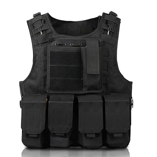 Children Outdoor CS Shooting Protection Gear Vest Kid Military Combat Training Camping Hunting Multi-function Tactical Waistcoat