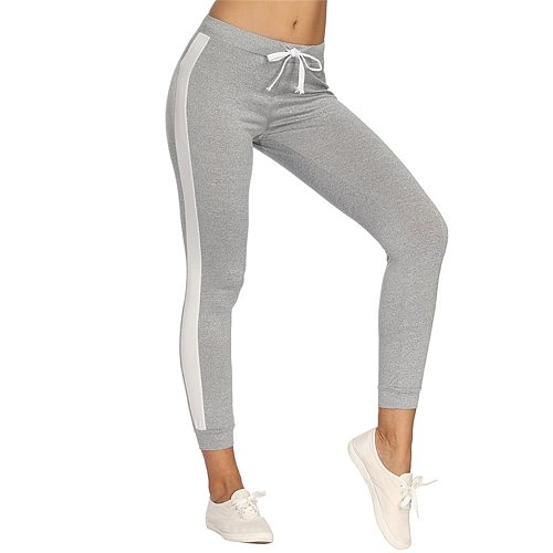 40@ Women Casual Jogger Dance Sport Pants Skinny Tracksuit Bottom Trouser Sweatpants Леггинсы Женские Спортивные Штаны Женкие