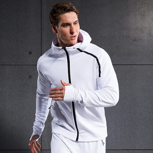 New in the Autumn of Men Running Jackets Training Hoody xxl Spring Sports Zipper Outwork Clothing Sweat