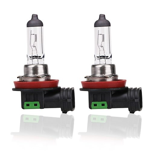 2pcs 12v 55w H11 Halogen Bulb 4300K Quartz Glass Car Fog Light Auto Lamp Halogen Headlight Bulbs White Fog Lights