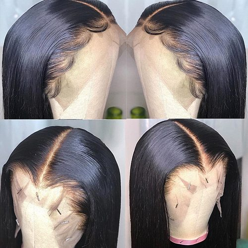 8 -36  Straight Hair Frontal With Bundles Human Hair Bundles With Frontal Brazilian Hair Weave Bundles With Closure Frontal