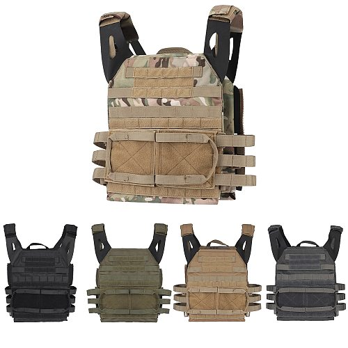 Tactical JPC 2.0 Vest Assault Lightweight Combat Vest Adjustable Vest Military Army Molle Hunting Plate Carrier