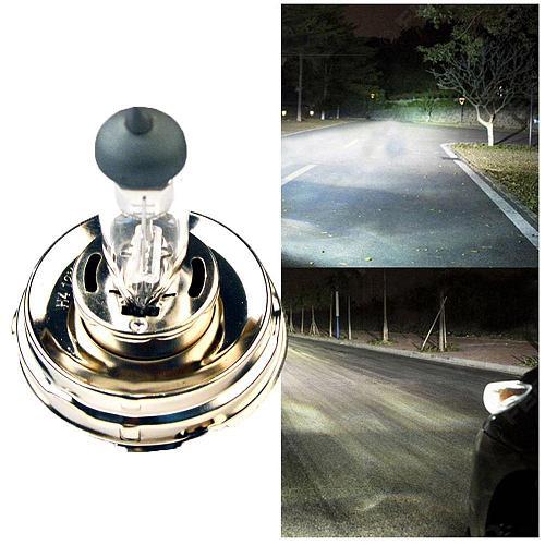 Car Light 2PCS  H4 P45T 12V 50W /100W Clear Glass 2500LM HeadLights Car Bulbs Halogen Lamps