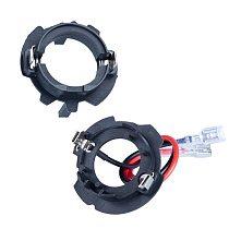 DAWNKNIGHT 2PCS H7 Led Headlight Socket Adapter For Volkswagen Golf 5/Jetta/The old Sagitar H7 For VW