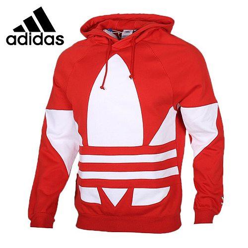 Original New Arrival  Adidas Originals BG TREFOIL HOOD Men's  Pullover Hoodies Sportswear