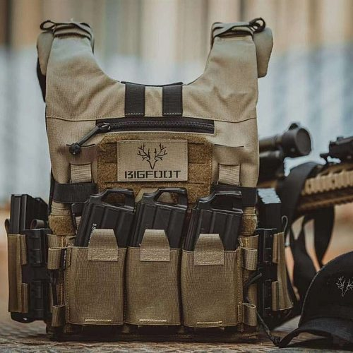 Bigfoot GTPC 2.0 Quick Release Lightweight Plate Carrier Vest Modular Tactical Hunting Molle Vest for Airsoft